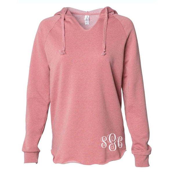 Blessed Beyond Measure Warm and Cozy Pastel Monogrammed Hoodie