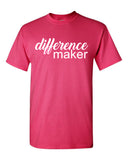DIFFERENCE MAKER - SHORT SLEEVE TEE