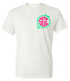 Easter Egg Monogram Tee - Southern Grace Creations