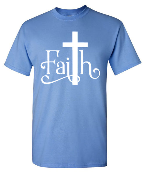 """Faith"" Tee - southern-grace-creations"