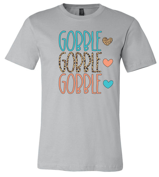 Gobble Gobble Gobble - Storm Short/Long Sleeve Tee