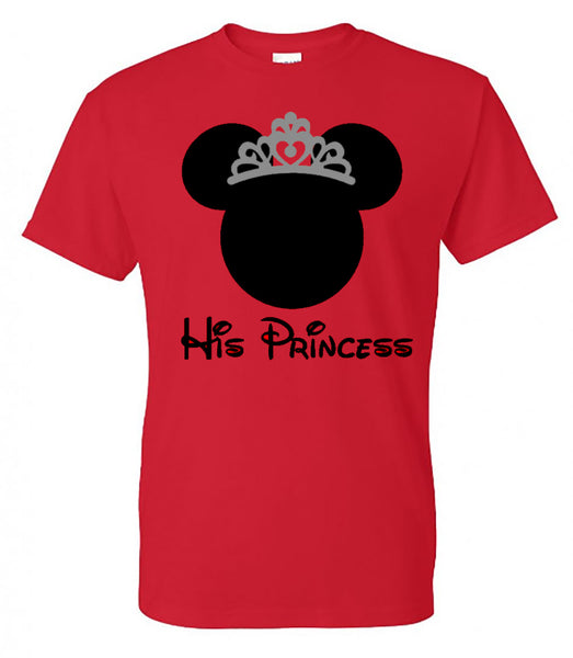 His Princess - Minnie Mouse - Southern Grace Creations