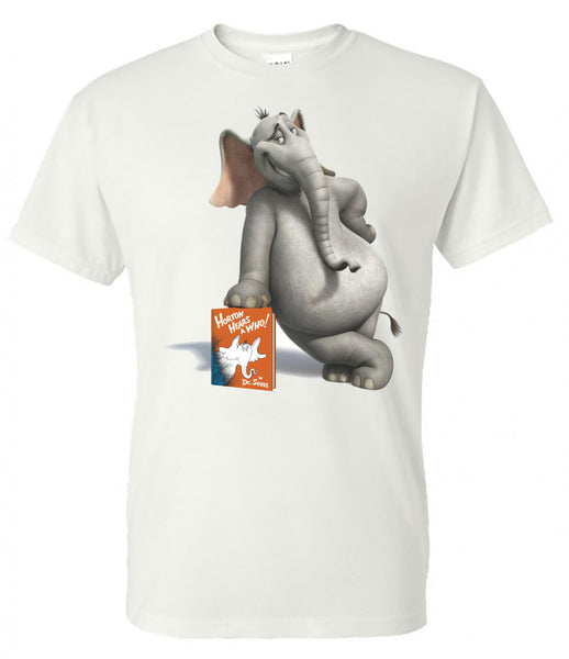 Horton Hears A Who - Dr. Seuss - White Short Sleeve Tee