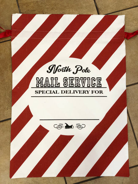 Santa Bag-North Pole Mail Service