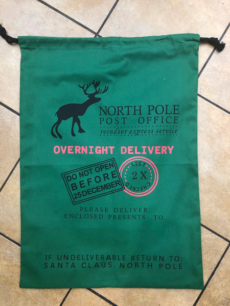 Santa Bags-North Pole Post Office