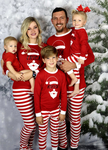 Santa Claus is Coming to Town Pajama Set - Adult & Youth