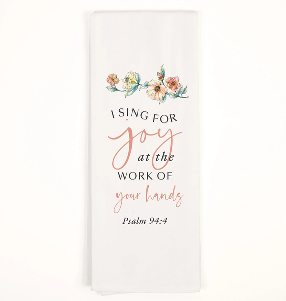 TEA TOWEL - Psalm 94:4