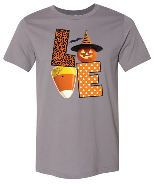 Love Halloween - Storm Short/Long Sleeve Tee