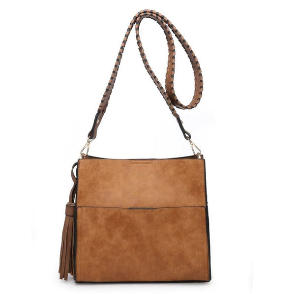 Guitar Strap Bucket Bag - Camel