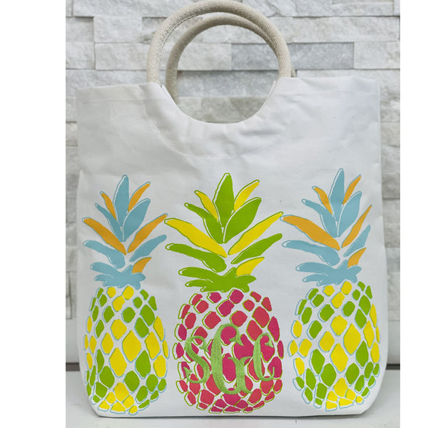 Pineapple Shore Tote