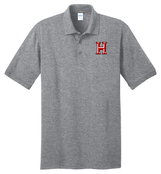 Howard - Adult Polo - Athletic Heather