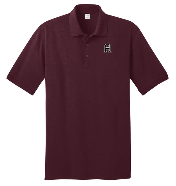 Howard - Adult Polo - Athletic Maroon