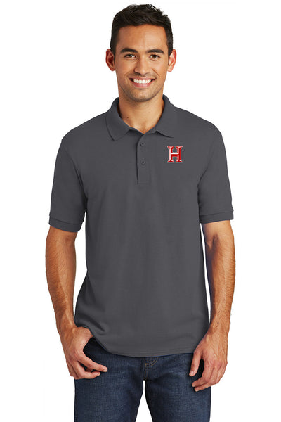 Howard - Adult Polo - Charcoal