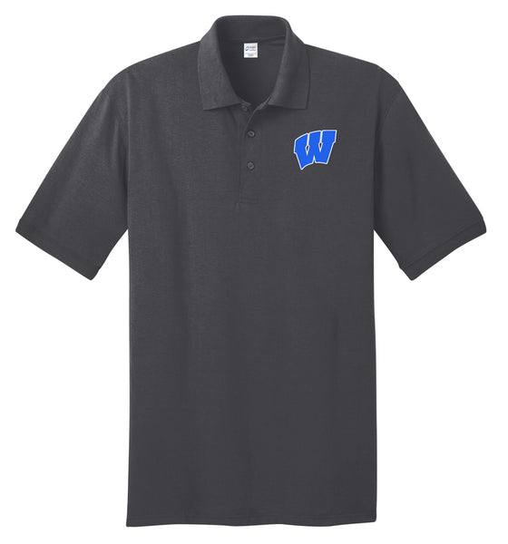 Windsor - Adult Polo - Charcoal (KP55)