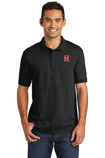 Howard - Adult Polo - Jet Black