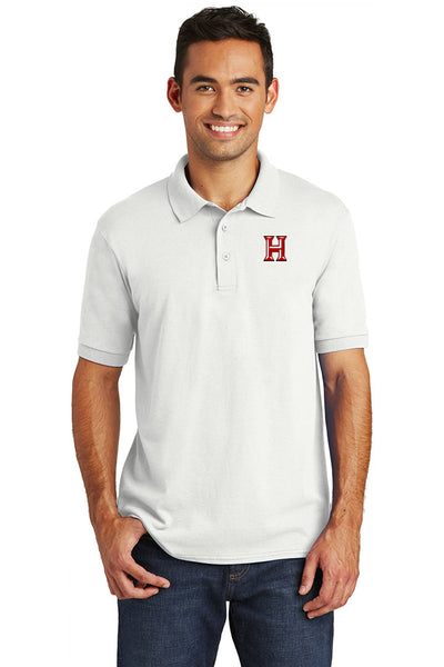 Howard - Adult Polo - White