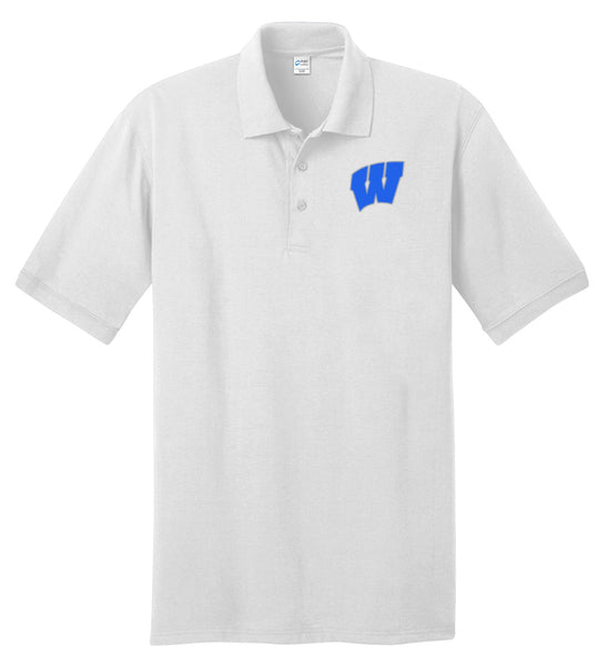 Windsor - Adult Polo - White (KP55)