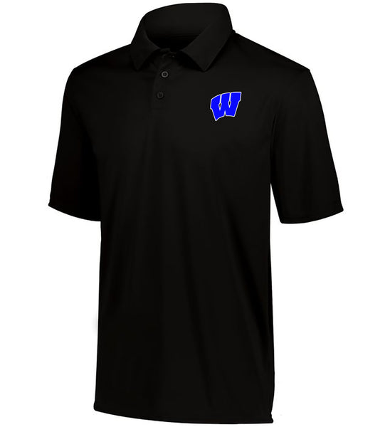 Windsor - Youth DriFit Moisture Wicking Polo - Black (5017)
