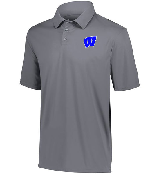 Windsor - Youth DriFit Moisture Wicking Polo - Graphite (5018)