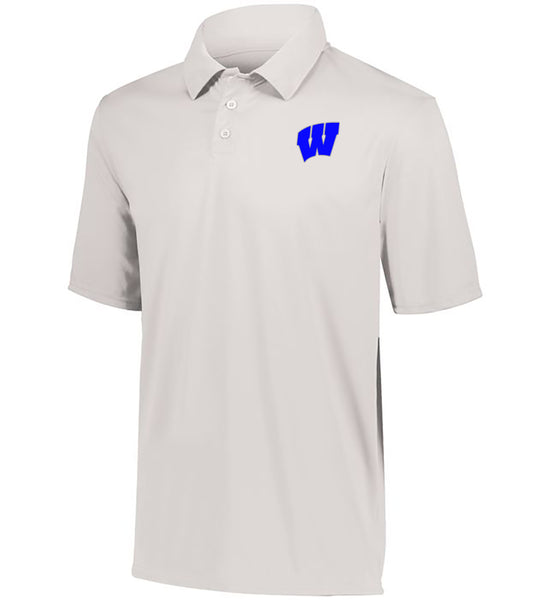 Windsor - Adult DriFit Moisture Wicking Polo - White (5017)