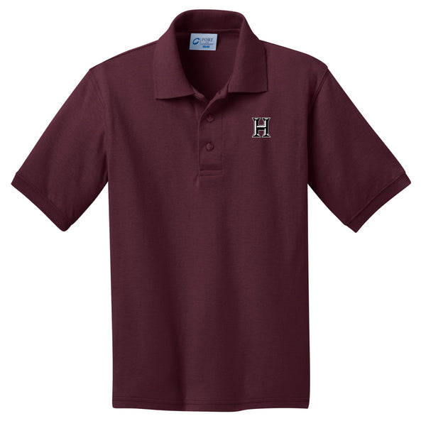 Howard - Youth Polo - Athletic Maroon (kp55y)