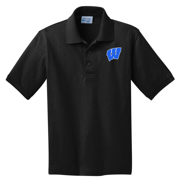 Windsor - Youth Polo - Jet Black (KP55Y)