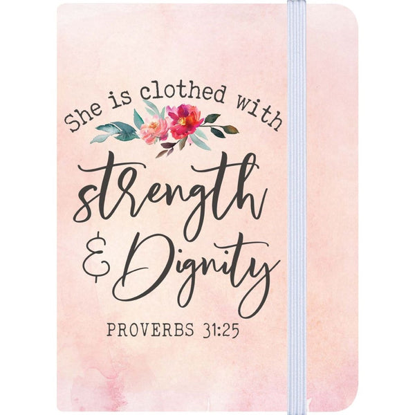 Proverbs 31:25 Notebook