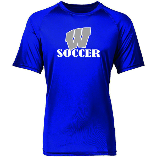 Windsor - Soccer - W Soccer - Royal DriFit Shortsleeve Tee (2790/2791)