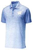 Windsor - Sport-Tek Ombre Heather Polo - White/ True Royal (ST671)