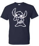 lilo and & stitch monogram disney shirt