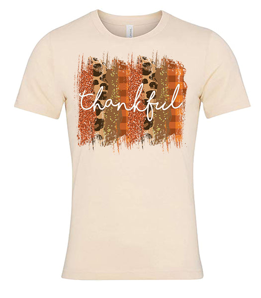 Thankful Cream Tee