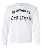 The One Where It's Christmas Friends Tee