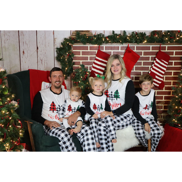 Oh Christmas Tree Oh Christmas Tree Pajama Set - Adult, Youth, & Baby
