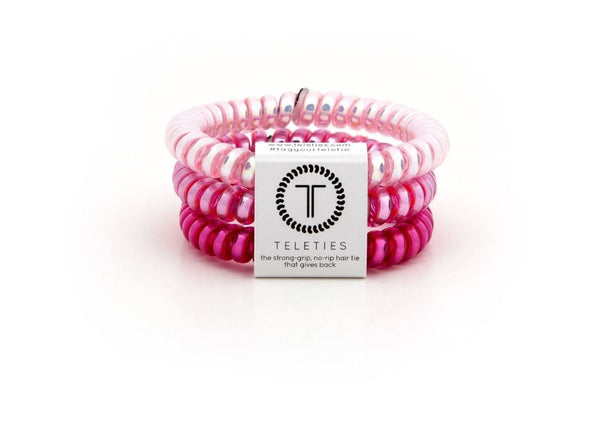 Teleties Think Pink 3 Pack-Small