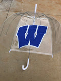 Windsor - Clear Umbrella with W