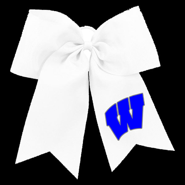 Windsor - Cheer - Bow - White (REQUIRED)