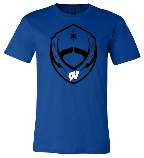 Windsor - Football Shield - Royal (Tee/Hoodie/Sweatshirt)