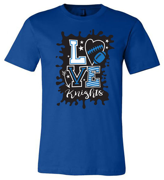 Windsor - Knights Love - Royal (Tee/Hoodie/Sweatshirt)