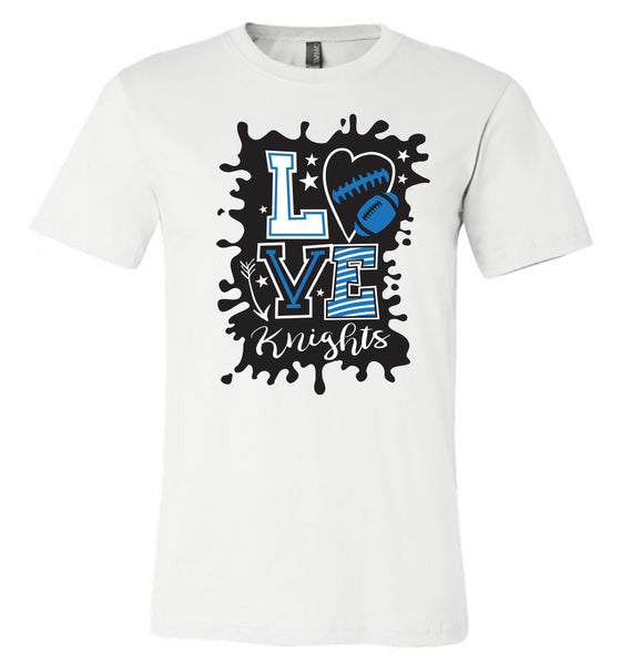 Windsor - Knights Love - White (Tee/Hoodie/Sweatshirt)