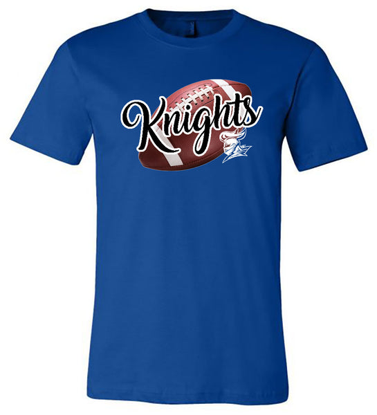 Windsor - Knights with Real Football - Royal (Tee/Hoodie/Sweatshirt)