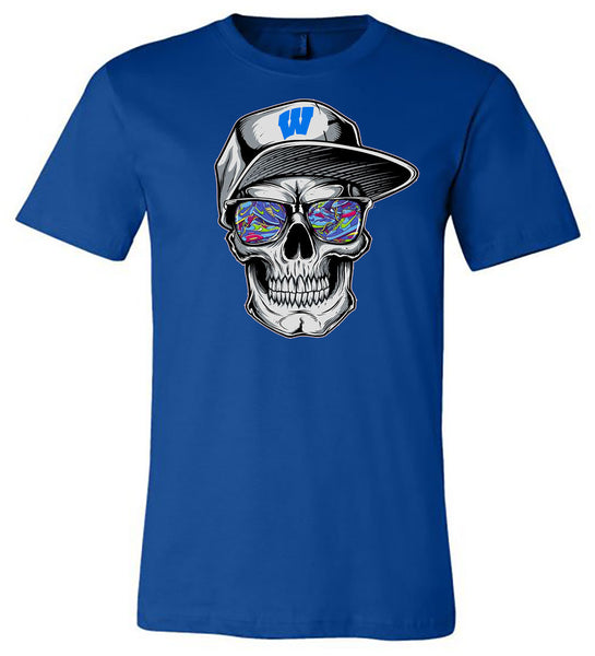 Windsor - Skeleton with Hat - Royal (Tee/Hoodie/Sweatshirt)