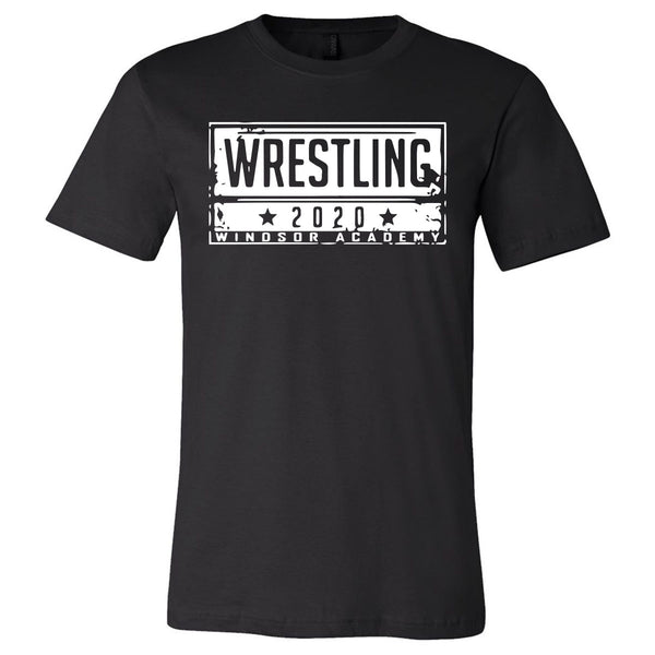 Windsor - Wrestling 2020 Windsor Academy - Black (Tee/Hoodie/Sweatshirt)