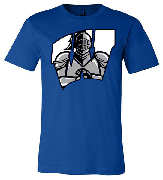 windsor w with knight - royal tee