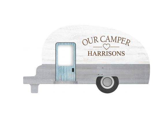 Camper Sign - Southern Grace Creations