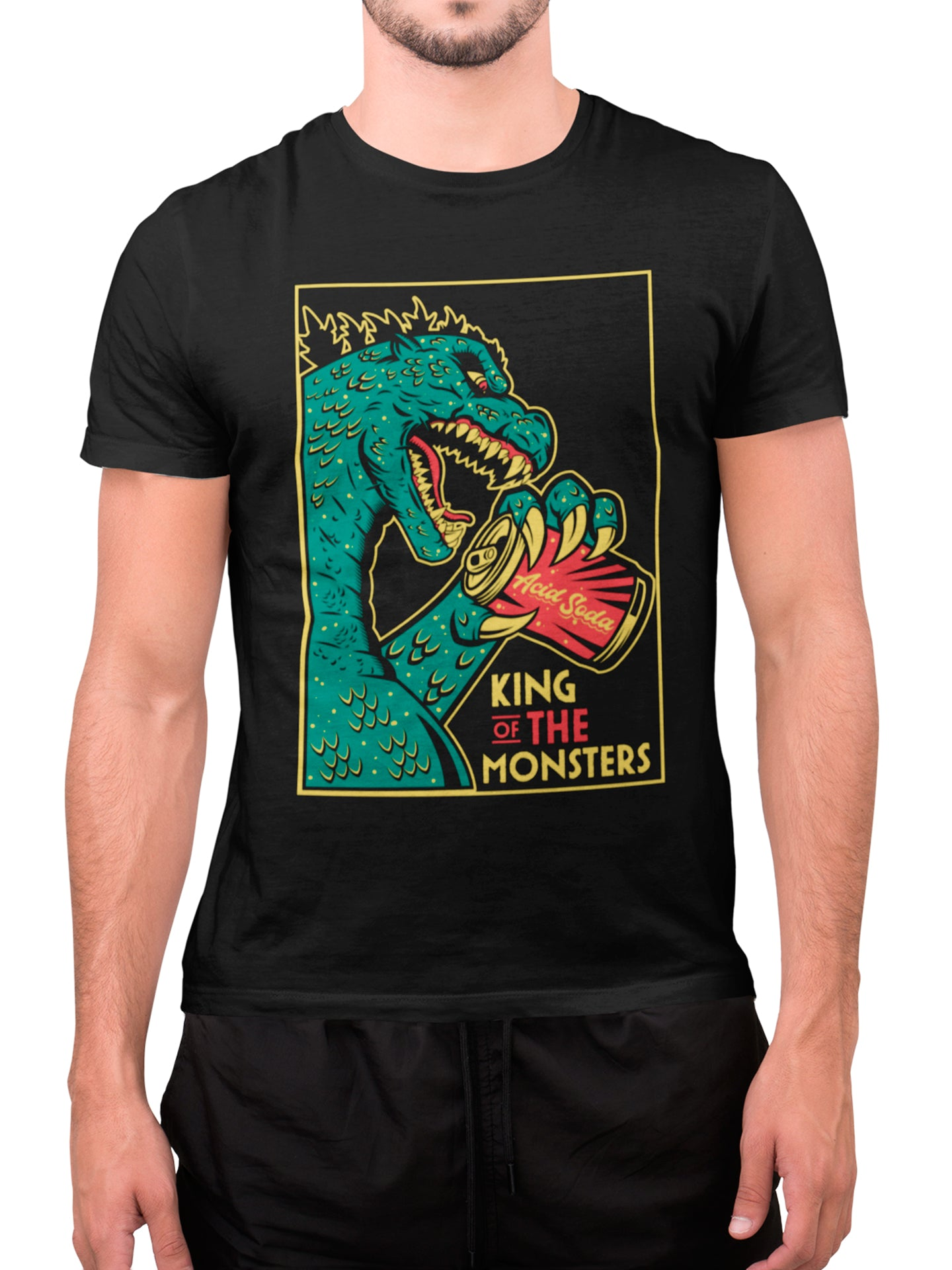 Playera Manga Corta King of Monster (Hombre)