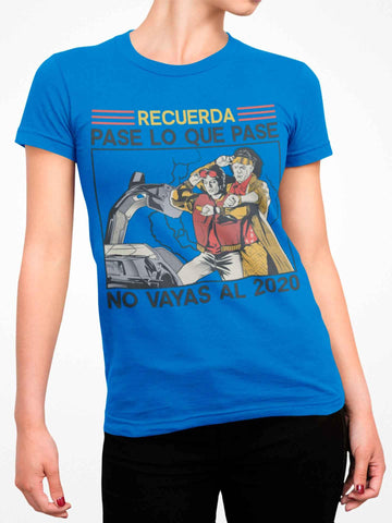 Playera Manga Corta Time Travel (Mujer)