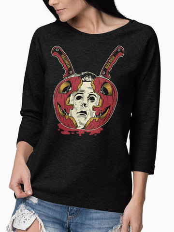 Playera Manga Larga Halloween (Mujer) - Acid Soda