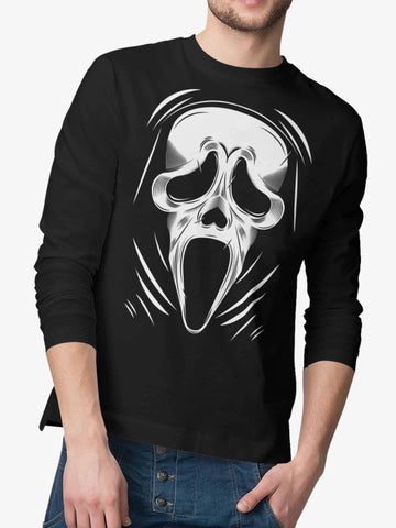 Playera Manga Larga Scream (Hombre)