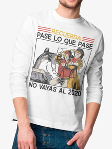 Playera Manga Larga Time Travel (Hombre)
