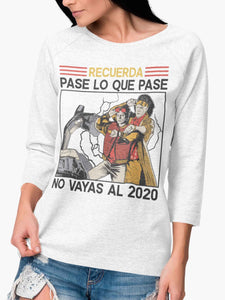 Playera Manga Larga Time Travel (Mujer)